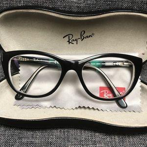 "GUC Ray-Ban ""Cat Eye"" Glasses"